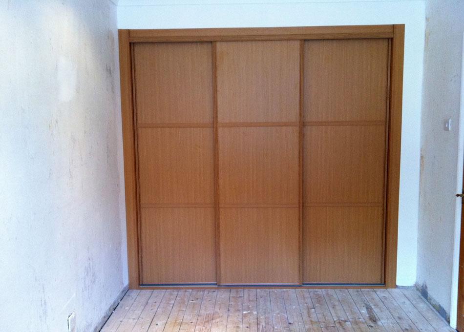 Oak frame oak panels