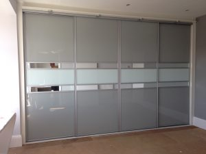 Sliding Wardrobe with multi-panel doors